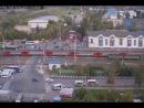 ДТП на переезде Щербинка 26 08 2013 реальное видео 1 2