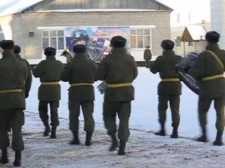 Оркестр 217 полк ВДВ 18 января 2014 г. Иваново