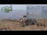 Сирия: Подбитие танка из ПТУР