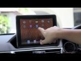 What can iPad do with my car? ECU=OBD2-Bluetooth (A2DP); ECU=OBD2-Wi-Fi; ECU=COM=USB->iPad