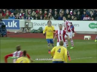 Сток Сити Арсенал 1 0 обзор матча