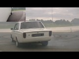 A Volvo 142 supercharged v8, Volvo 242 v8 and a Volvo 242 with a lot of boost having fun