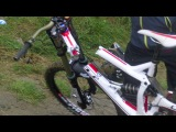 2013 Hafjell World Cup - Frame fail on step down
