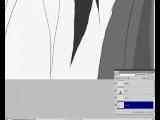 Как нарисовать ангела - Спидпэинт для DayFun.ru