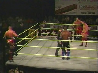 [My1Wrestling.ru] OVW 28.09.2002 - Nick Dinsmore & Rob Conway vs. Shelton Benjamin & Redd Dogg(OVW Tag Team Title)
