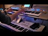 Michel Telo - Ai Se Eu Te Pego на синтезаторе