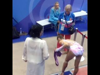 « AMAZING GIRLS   Rhythmic gymnastics » Рита Мамун и Винер (7)