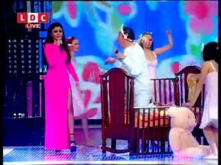 Haifa Wehbe & Mario Bassil - Baba Fen | Celebrity Duets 3 - January 2013