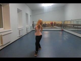 JAZZ-POP: Kelly Rowland-Work:Choreo by Uliana Komardina
