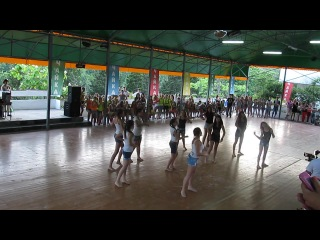 Танец на стартин Батл