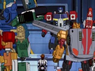 Трансформеры: СуперЛинк (Энергон) - Соревнования 44 серия / Transformers: SuperLink (Energon) - Distribution 44 series