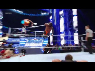 WWE Friday Night SmackDown! 20.09.2013 Daniel Bryan & The Usos vs. The Shield - Six Man Tag Team Match