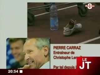 JO - interview de l'entraîneur de Christophe Lemaitre (Annecy)