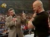 WWF SmackDown! 12.07.2001 - Мировой Рестлинг на канале СТС / Всеволод Кузнецов и Александр Новиков