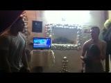 Ахуенная Кик-бокс тренировка Джуни Киллер vs Ахмед (Украинская тюрьма)