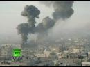 Армия Израиля обстреливает Газу