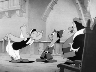 Моряк Попай - Popeye the Sailor - 88 - Popeye Meets William Tell