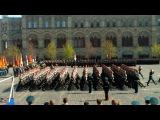 Парад Победы 2013 - прохождение ОДОН ВВ МВД (2-ой полк, в/ч 3186))