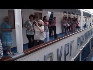 Роман Желнов ...Капитан Пушкарёв, сезон 2013 года под флагом Волжских путешествий...