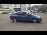 А говорят девушки не умеют парковаться задом))))враки