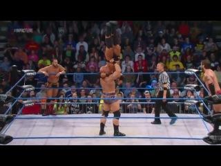 TNA Impact Wrestling 02 04 2013 русская версия от канала IWN Антошка Бриндак Антон Платонов Рома Гаманко