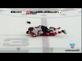 КХЛ бой вратарей- Далтон VS Гарнетт - KHL goalie fight- Dalton VS Garnett