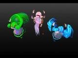 Miku Blue,Miku Green,Luka Append-Kanye-West-feat-Daft-Punk-Harder-Better-Faster-Stronger