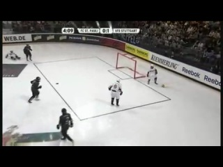 Футбол на льду. Кубок Германии-2009. Финал. Санкт-Паули - Штутгарт