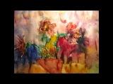 Цветы и Бабочки. Мультфильм. автор - Лена Мустафина.