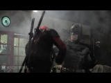 BATMAN vs DEADPOOL!! - Бэтмен против Дэдпула