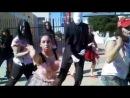 Flash Mob Alma d Arte Thriller 2012 Jacob Darmata does Slender Man