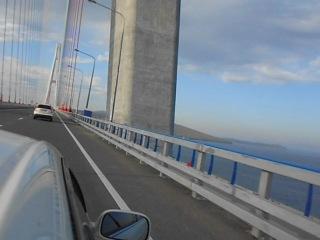 Владивосток Мост на Русский Направление на остров
