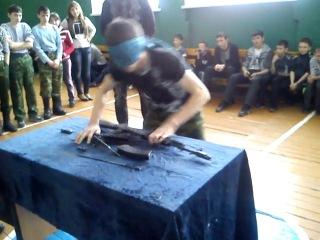 Не полная разборка/сборка AK-74