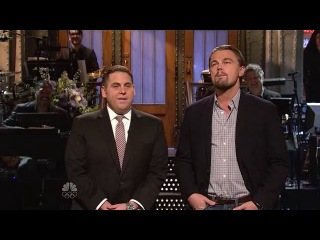 SNL: Джона Хилл и Лео Ди Каприо монолог(рус. субтитры)