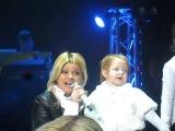 Дуэт Ирины Круг и маленькой Аделины. Концерт в Могилеве.