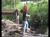 хиппи-шива и река
