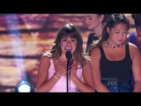 Glee Cast winning with Lea Michele's Acceptance Speech (2013 Teen Choice Awards)