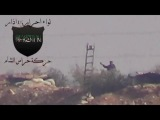 Сирия. Идлиб. Снайпер исламистов работает по цели.
