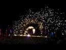 Фаер шоу на острове Пхи Пхи в Таиланде