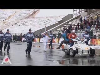 Олимпийский огонь / Владикавказ приличный!