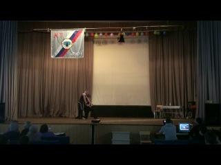 Минута славы (2 место). Юрий Милеев и Владислав Твердяков. Парная силовая акробатика (28.01.2014)