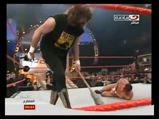 Randy Orton vs Mick Foley (Hardcore Match)