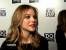» Chloë Grace Moretz short interviewsclips and speech from Teens For Jeans event
