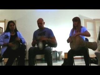 J-Gabbersha, Аня и Володя - композиция Dokuz (Raquy Danziger) (2 дарбуки и дохола)