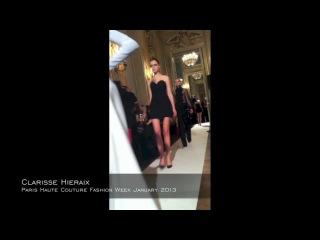 -Feruza on Clarisse Hieraix show Paris Haute Couture Fashion week