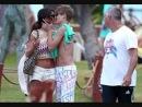 Джастин Бибер и Селена Гомес Поцелуи!