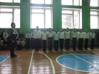 Смотр строя и песни, посвященный 25-летию вывода войск из Афганистана. (23.02.2014)