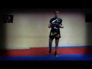 Как научиться драться. Нырок с ударом/How to learn to fight. Pochard with a blow