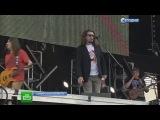 Зрители пришли в экстаз от выступления Rammstein на фестивале РОК НАД ВОЛГОЙ 2013 и я в том числе)