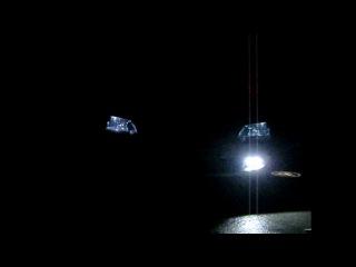 Установка ДХО с Функцией стробоскопов на Mitsubishi Lancer IX, и Chevrolet Aveo t300
